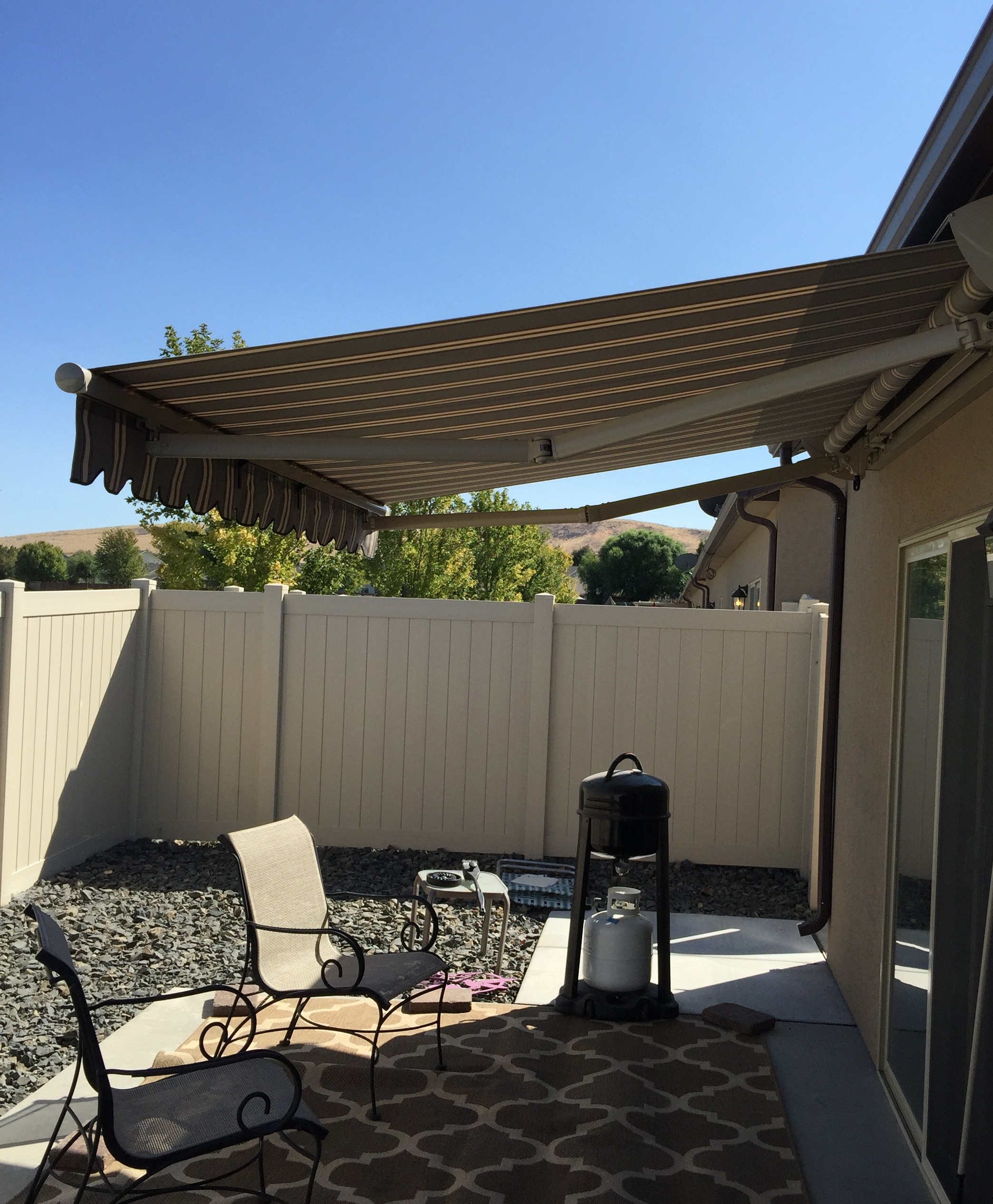 patio htm manual check striped aleko retractable for hand multi awning our ap motor to feet motorized follow ft your below p a and video need easy installing out installation